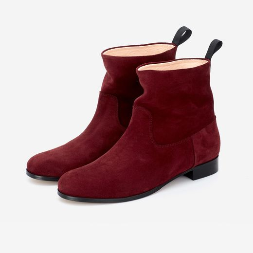 CORA BOOT bordeaux